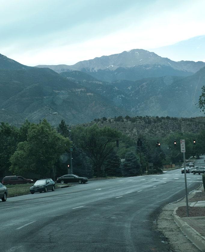 Pikes Peak In Colorado Springs: Pikes Peak Ascent, Colorado