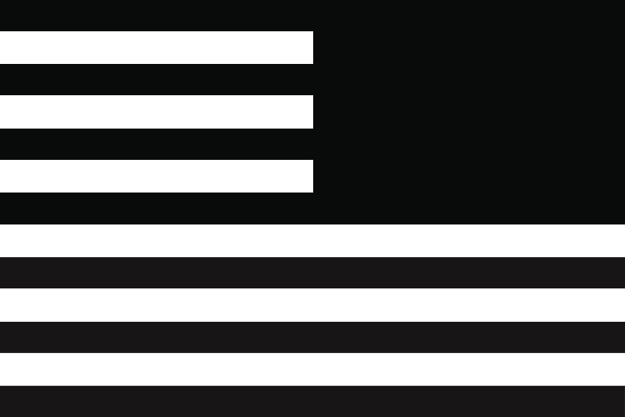Backwards flag symbolism