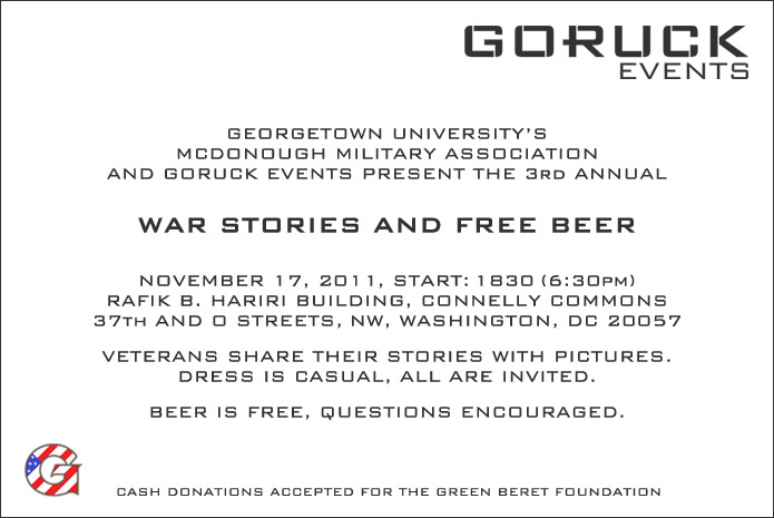 War Stories and Free Beer_Invite_DC