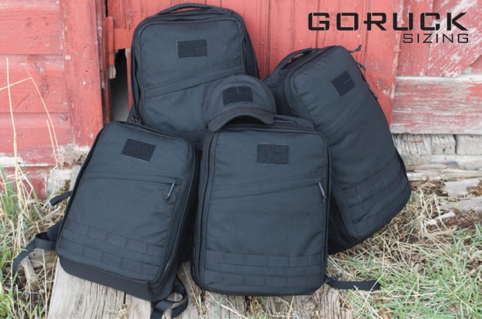 GORUCK Sizing_Rucksacks