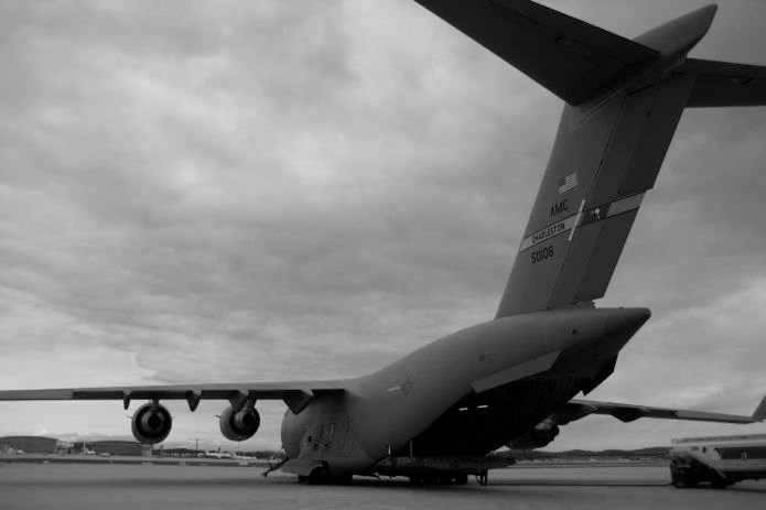 GORUCK Origins_C-130 airplane