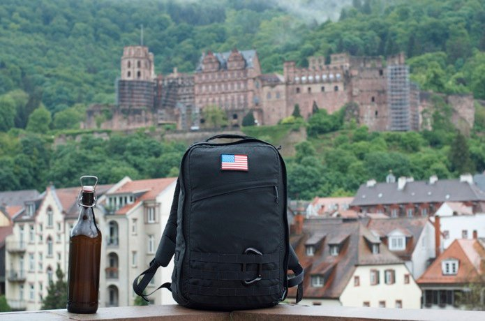 GR1_Heidelberg_Germany_American flag patch_State of GORUCK Part 2