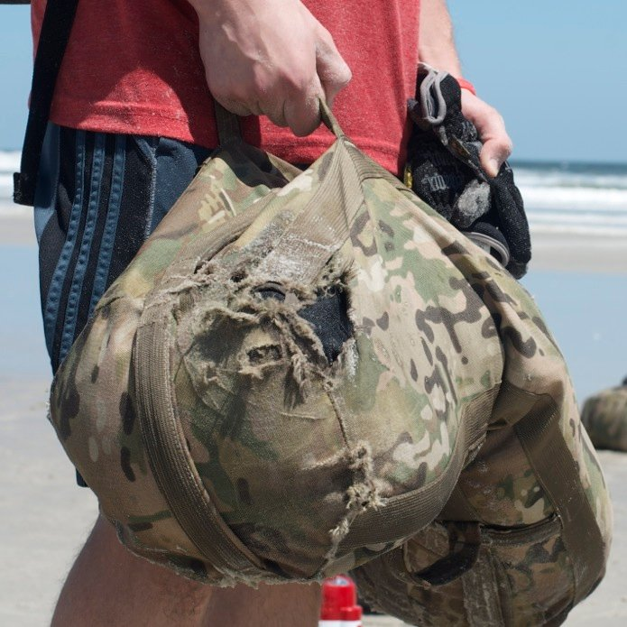 Proving GORUCK Tough Sandbags_Built in the USA_Multicam
