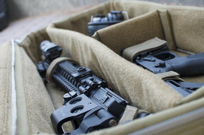 Firearms Gear Photo Shoot_05_Rifle Case Coyote