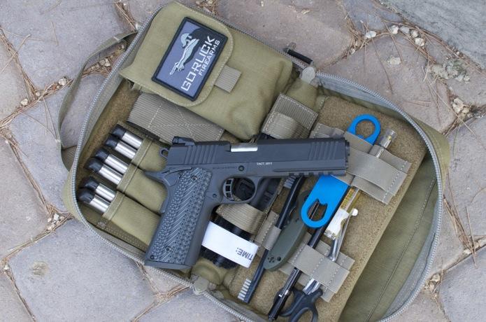 Firearms Gear Photo Shoot_06_Pistol Rug .45 caliber