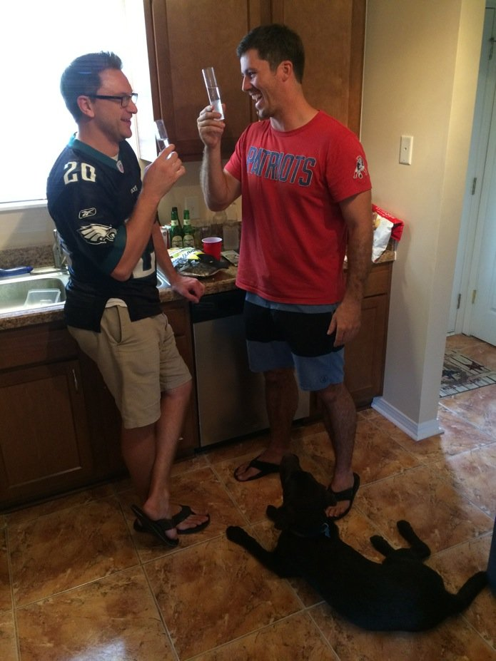 Cadre Garrett at Home in Jax Beach_NFL Party_05