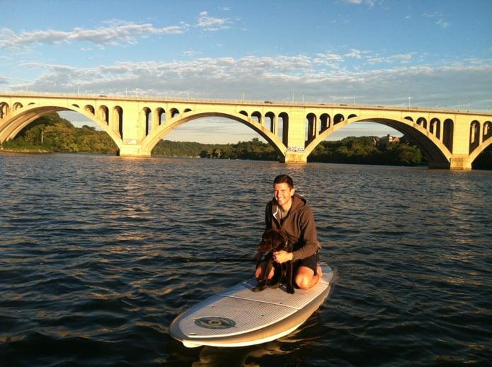 Jason Monster DC Potomac River_Paddle Boarding