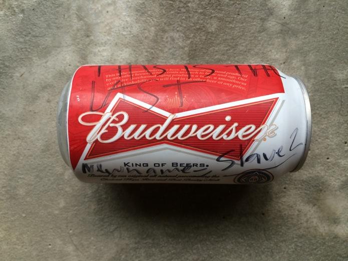 The Last Budweiser