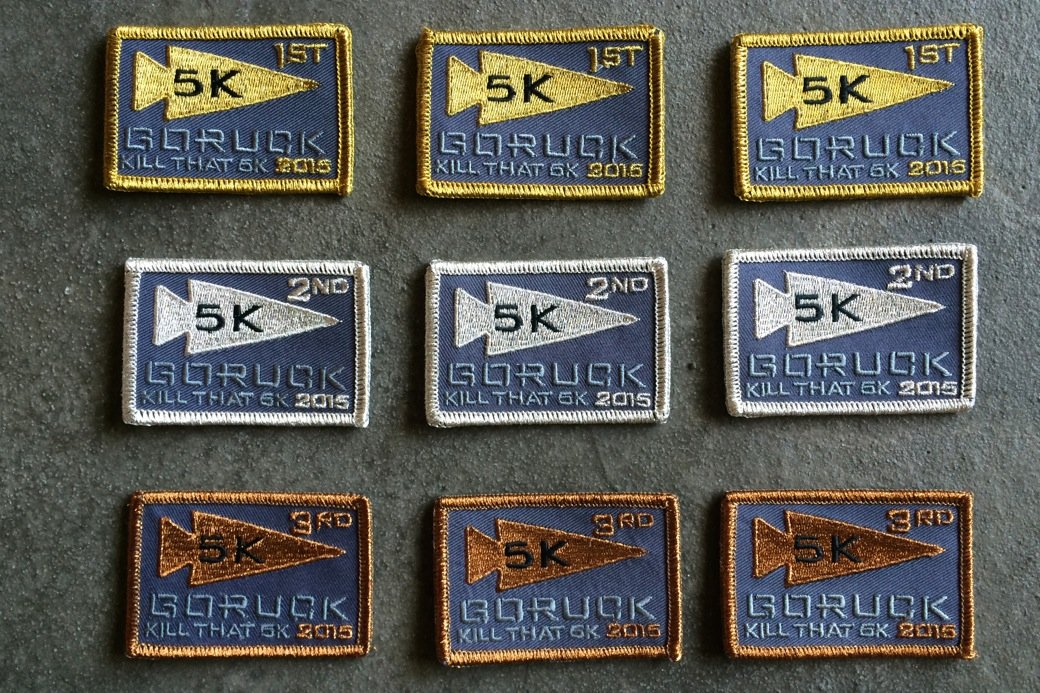 Kill That 5K_Winners Patches_Competitive Classes