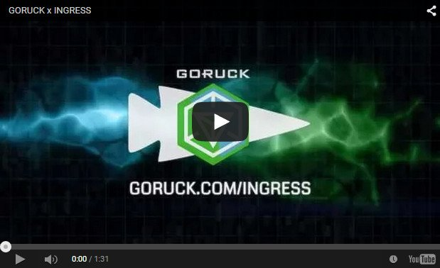 Watch the GORUCK video at Ingress in Washington D.C.