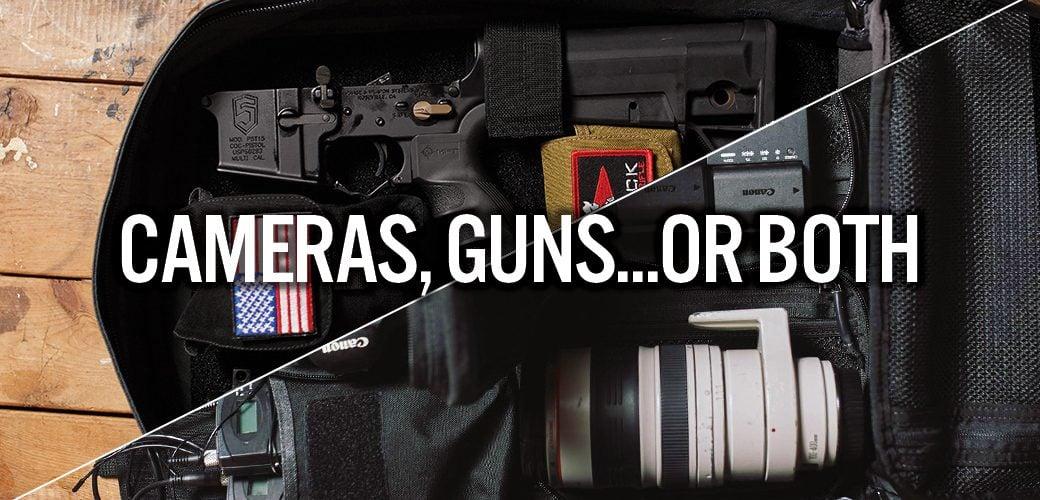 Cameras, Guns... or Both