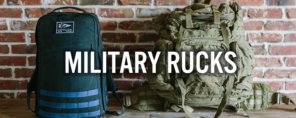 military-rucks