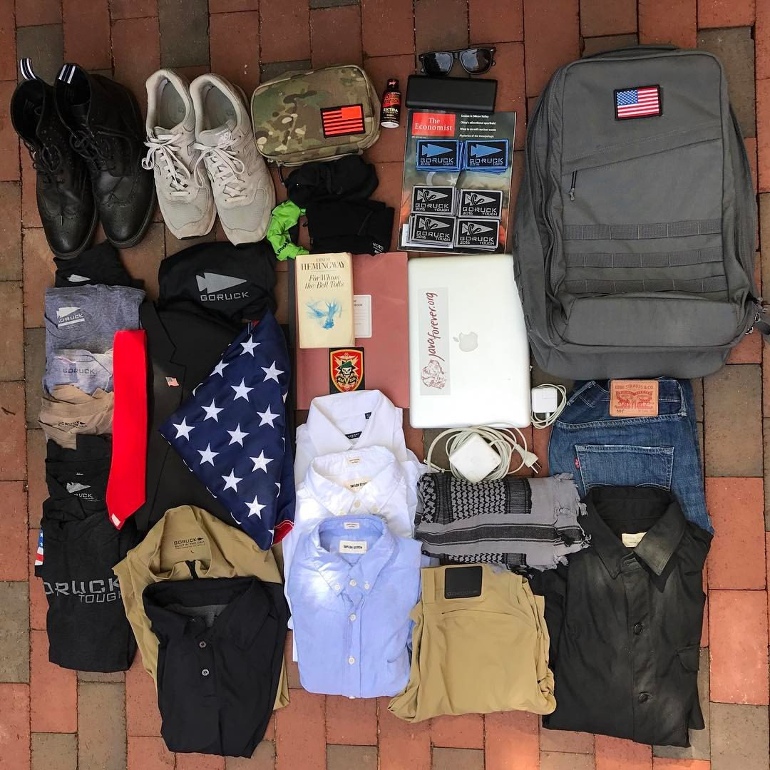 packing Archives - GORUCK News & Stories